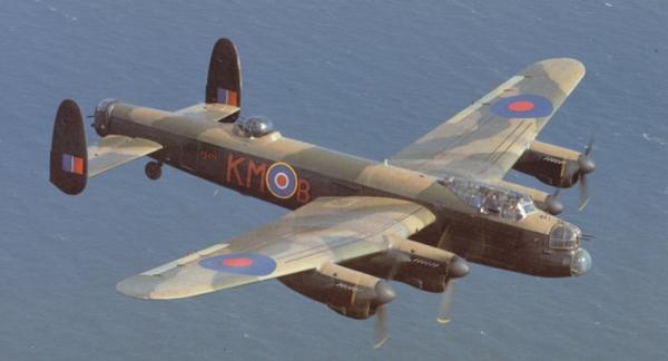 Avro Lancaster ВВС Британии