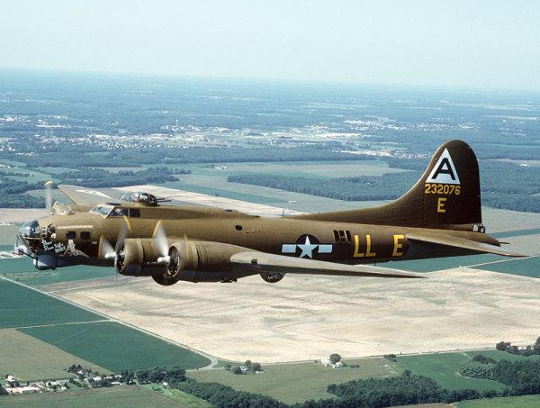 Легендарная «Летающая крепость» Boeing B-17