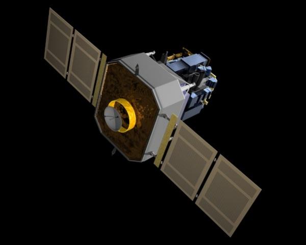 Модель аппарата SOHO