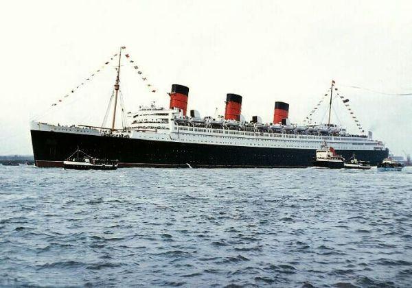 Легендарный лайнер Queen Mary