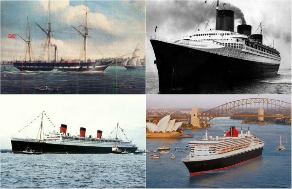 Обзор легендарных трансатлантических лайнеров