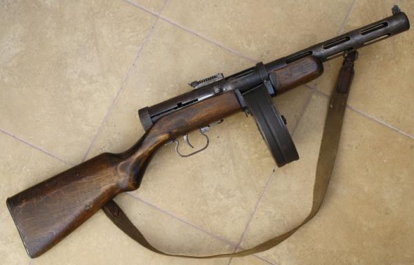 Пистолет-пулемет Дегтярева