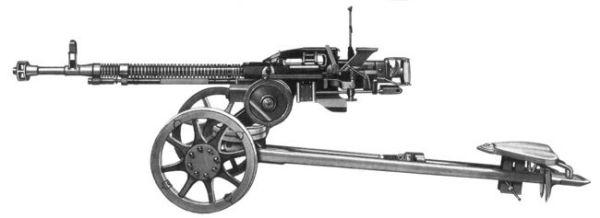 Крупнокалиберный пулемет Дягтерева