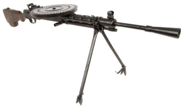 Ручной пулемет Дягтерева