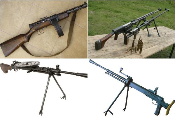Обзор стрелкового оружия Дегтярева