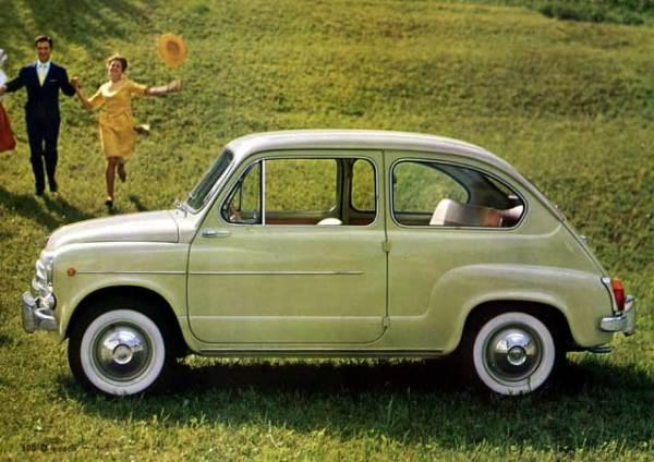 Fiat 600: прототип Запорожца