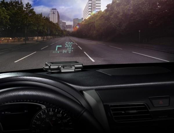 GPS-навигатор с head-up дисплеем