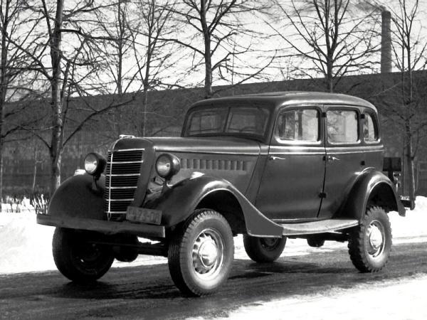 Автомобиль повышенной проходимости ГАЗ-61