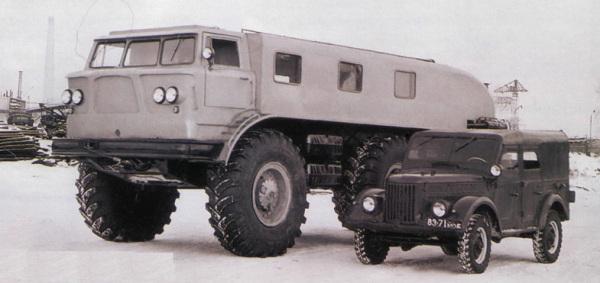 Грузовой автомобиль ЗиЛ-167