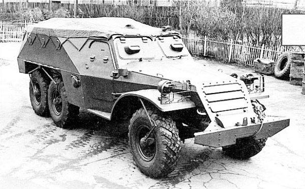 Бронетранспортер модели 152