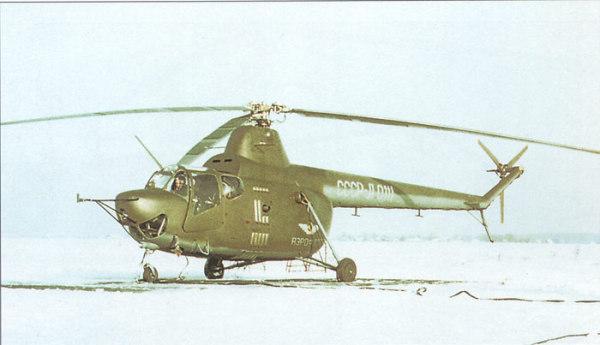 Первый советский серийный вертолет Ми-1