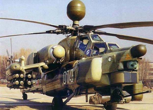 Новейший ударный вертолет Ми-28