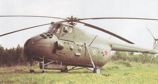 Ми-4 - первый военно-транспортный самолет СССР