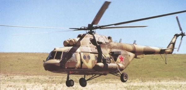 Популярный вертолет Ми-8
