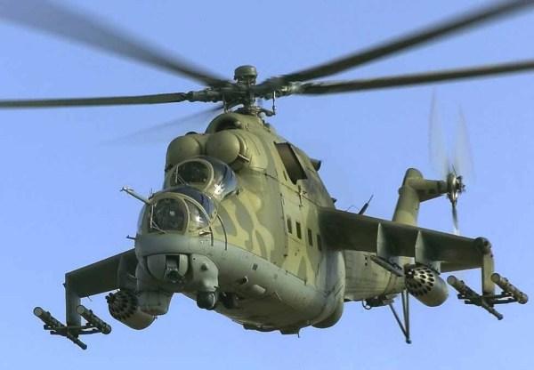 Первый советский боевой вертолет Ми-24