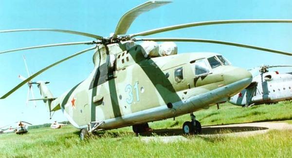 Крупнейший серийный транспортный вертолет Ми-26