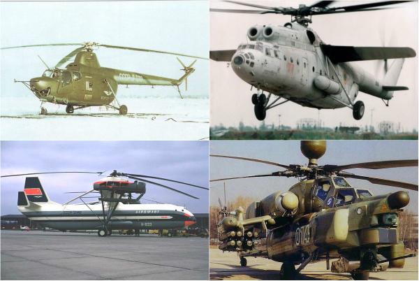 Обзор знаковых моделей вертолетов «Ми»
