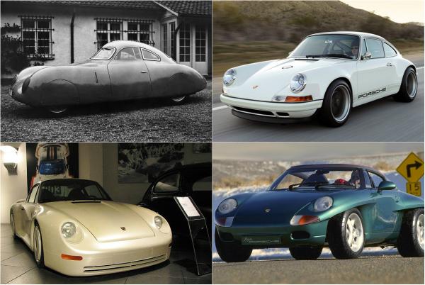 Обзор самых необычных моделей Porsche