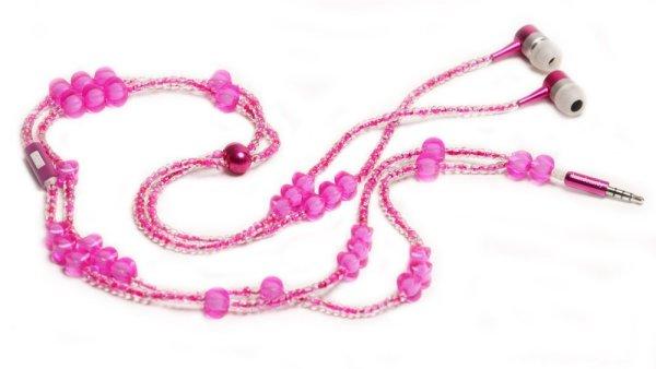 Стильное ожерелье-наушники LadyBuds