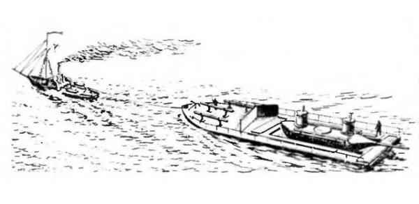 Буксировка подводной лодки Шильдера