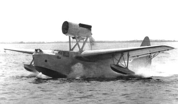 Совесткая летающая лодка МБР-2