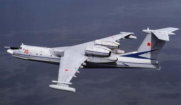 Крупнейший самолет-амфибия в мире - Бе-42