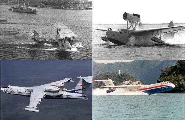 Обзор знаковых советских и российских гидросамолетов