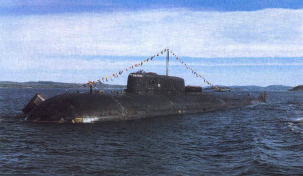 АПЛ проекта 949А «Антей»
