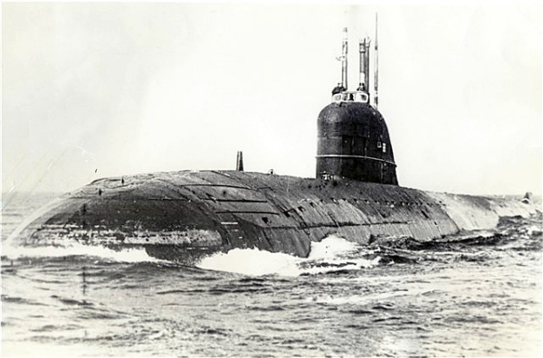 АПЛ проекта 627 «Кит»