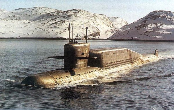 АПЛ проекта 667БДР «Кальмар»