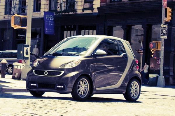 Smart Fortwo: малолитражка от Mercedes