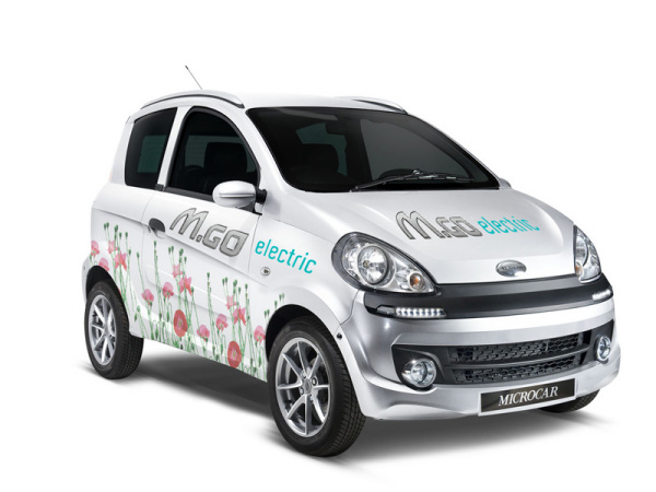 Концепт Microcar M.Go Electric