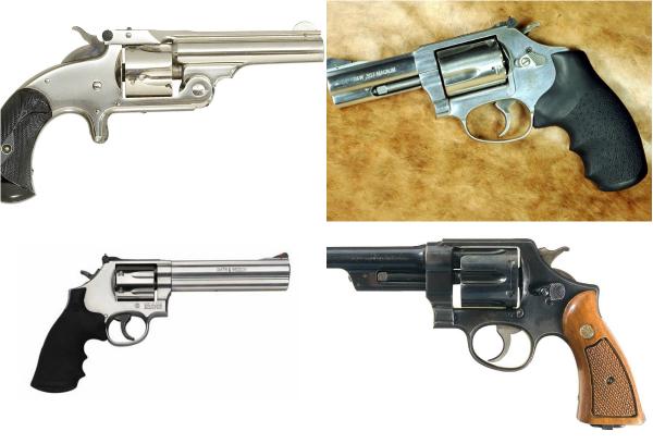 Обзор культовых револьверов Smith & Wesson