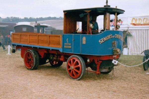 Паровой грузовик Sentinel Standard