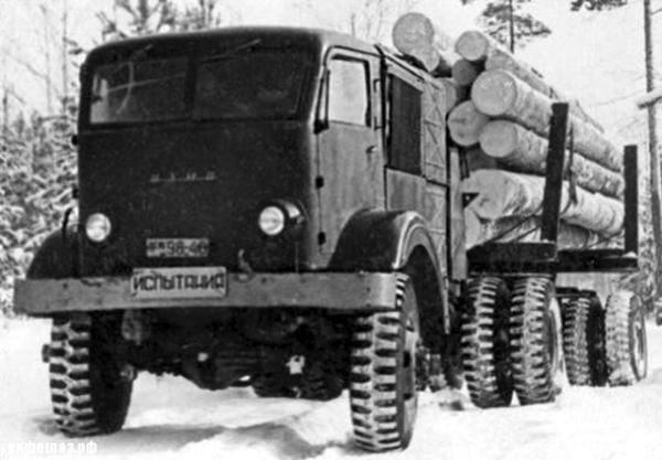 Советский паровой грузовик НАМИ-012