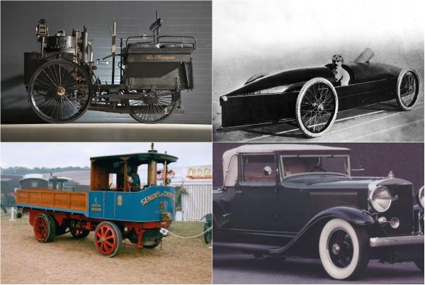 Обзор знаковых моделей паровых автомобилей