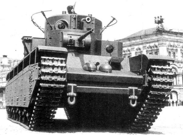 Пятибашенный гигант Т-35