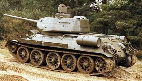 Т-34-85 - модификация «тридцатьчетверки»