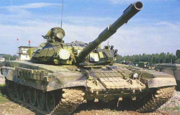 Самый массовый серийный боевой танк - Т-72