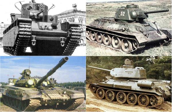 Обзор самых известных советских танков