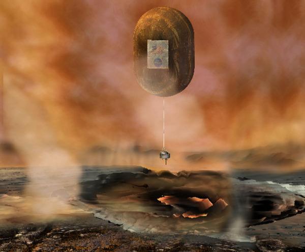 Аэробот проекта Venus In-Situ Explorer