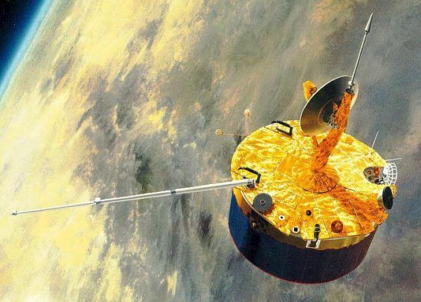 Пионер-Венера-1, составивший карту поверхности Венеры