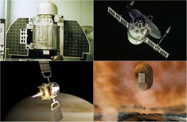 Обзор космических аппаратов-исследователей Венеры