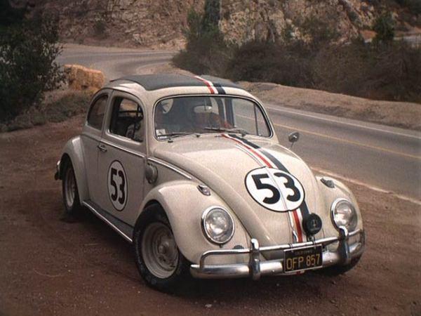Легендарный «киноактер» VW Beetle Herbie с 53-м бортовым номером