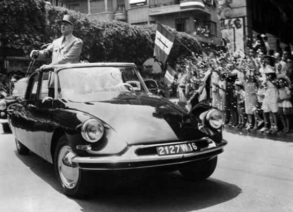 DS президента Франции Шарля де Голля