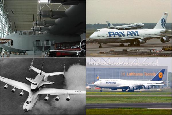 5 крупнейших самолетов секции VLCT