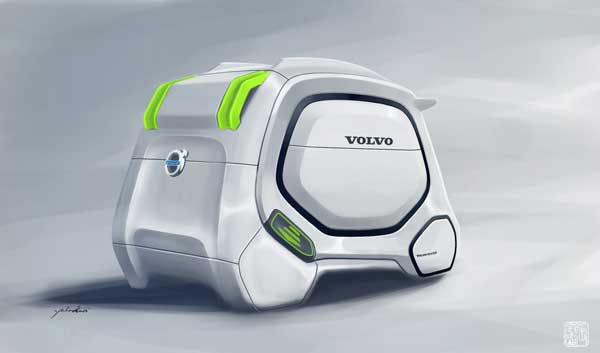 Транспортер Volvo BeeTruck