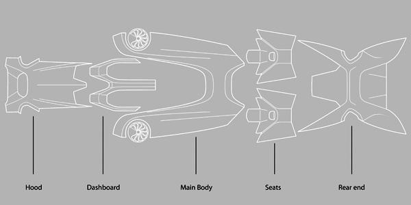 Детали кузова Bentley Tailor Made