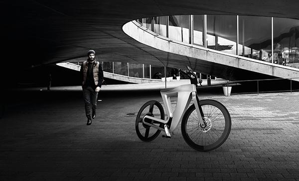 Концепт электробайка Bike 13
