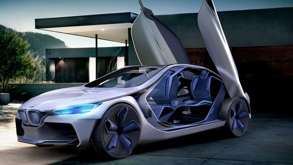Концепт-кар BMW i-3/60° позволяет создать уникальный дизайн автомобиля